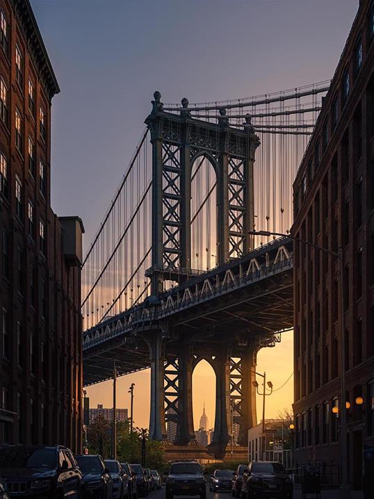 Poster Brooklyn Bridge 70x100