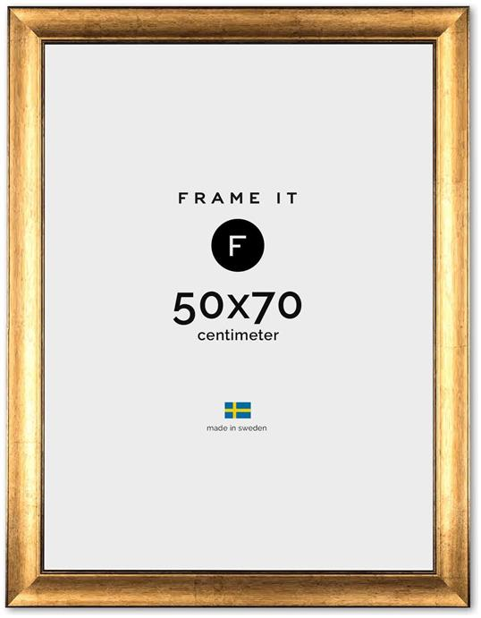 Ram Rome Guld 50x70