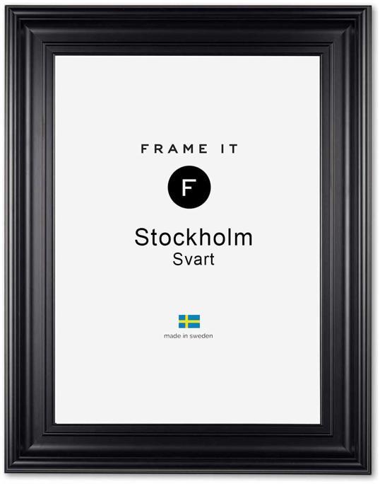 Ram Stockholm Svart