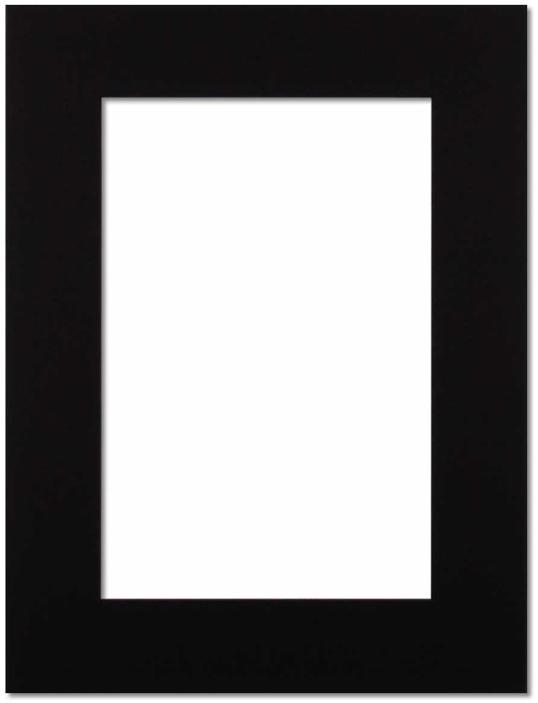Passepartout Svart 21x29.7(A4)