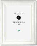 Ram Stockholm Vit