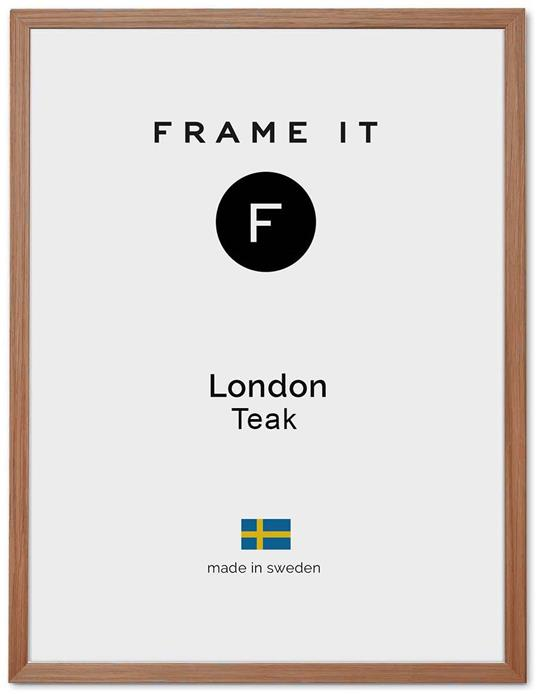 Ram London Teak 50x70